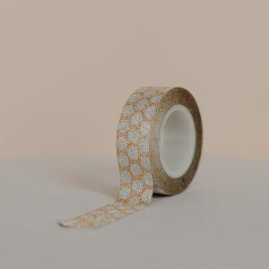 Cinta adhesiva o cinta de doble cara.