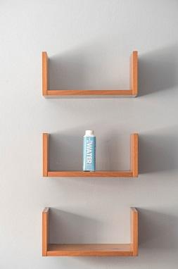 estanterias flotantes de pared