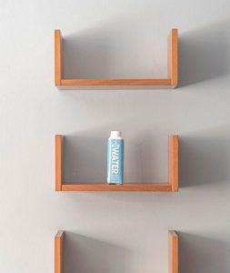 estantes flotantes de pared