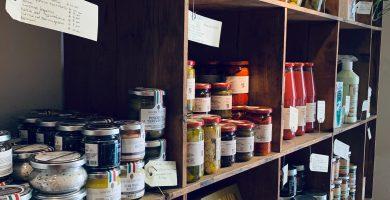 estanteria cocina madera
