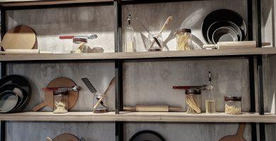 estanteria vintage para cocina