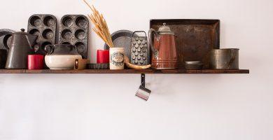 estante cocina pequeña