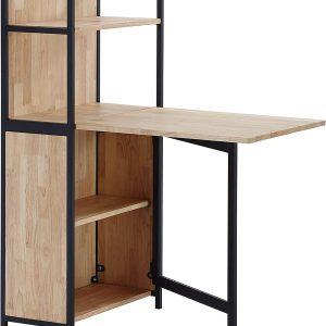 estante con mesa apilable