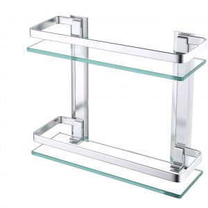 estante ducha de obra cristal