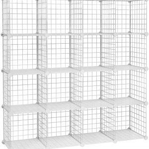 estanteria modular blanca