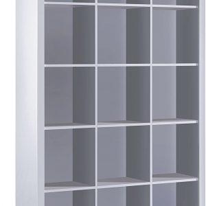 mueble librero blanco