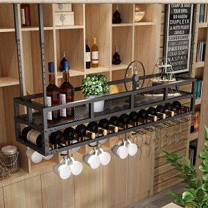 estanterias colgantes cocina
